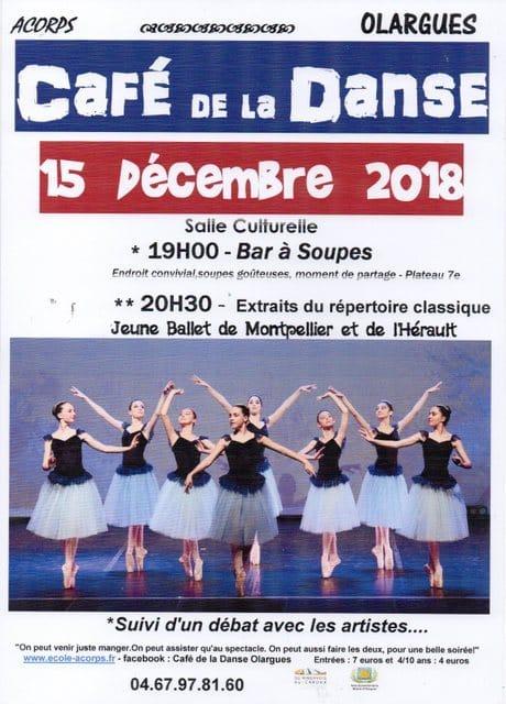 Du classique au café de la danse de décembre!