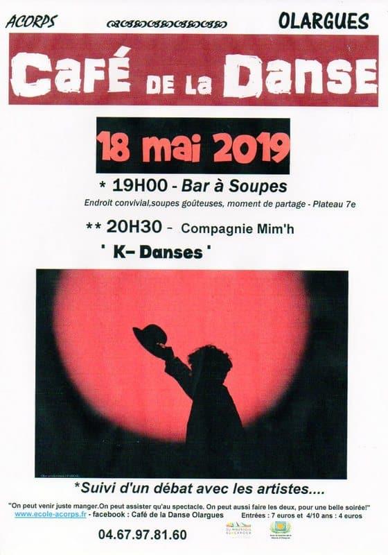 Café de la Danse du samedi 18 mai 2019