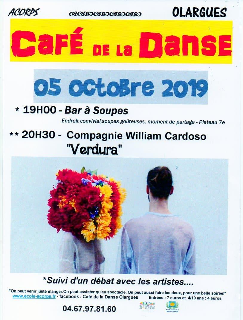 Café de la danse du 5 octobre 2019