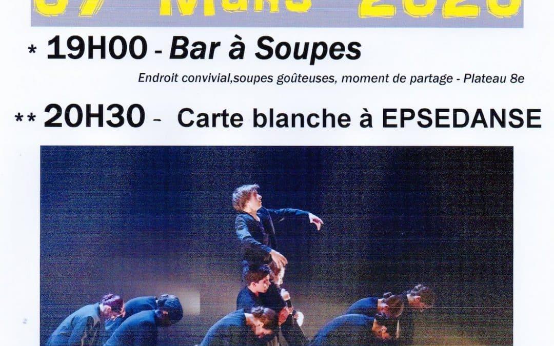 Café de la danse du 7 Mars 2020