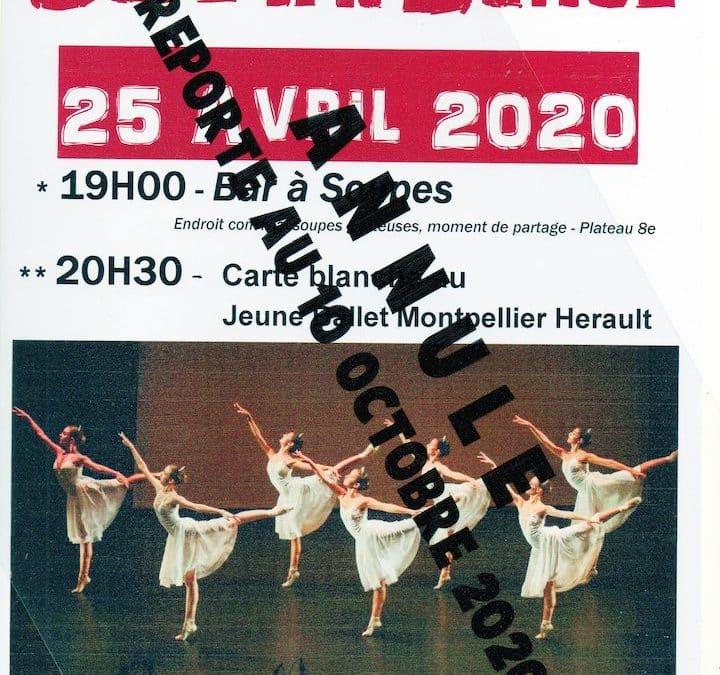 Café de la danse du 25 Avril 2020